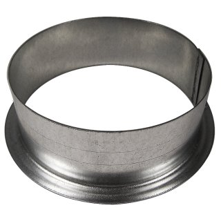 Wall flange made of metal, Ø 12cm