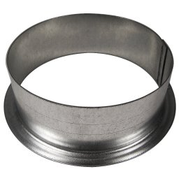 Wall flange made of metal, Ø 12,5cm