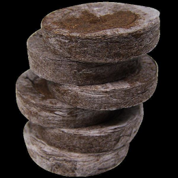 Jiffy peat soaking pellets, Ø ca. 35mm