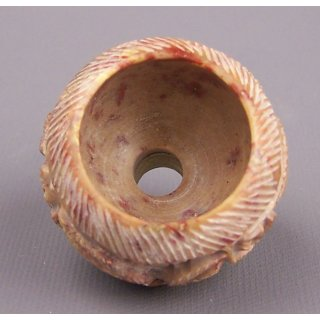steatite pipe bowl handcarved ca. 2,5cm