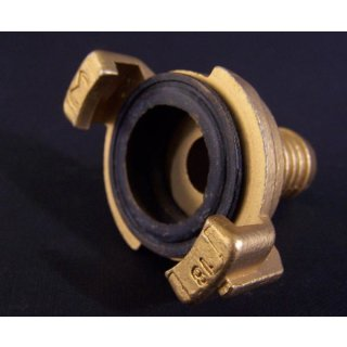 Express coupling, brass Ø 3/4 inch