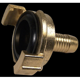 Express coupling, brass Ø 1/2 inch