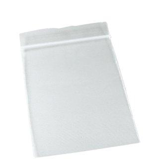 Druckverschlussbeutel 60mm x 80mm, 50µ, ohne Druck, 100 Stück/Päckchen (J)