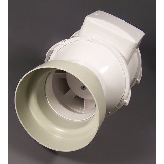 Ducting reducer made of plastic , Ø 10/12cm