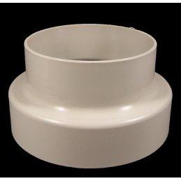 Reduzierstück aus Kunststoff, Ø 100/125mm