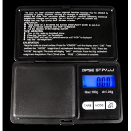 Digitalwaage Dipse St. Pauli 100g x 0.01g