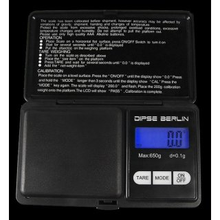 Digitalwaage Dipse Berlin 650g x 0.1g