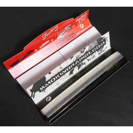 Smoking King Size Deluxe 33 sheets 108 x 44mm + tips