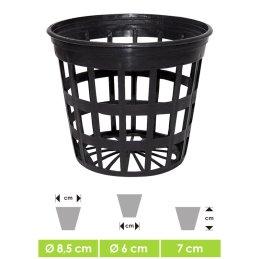 Net pot round, Ø 8,5 cm Height 7 cm