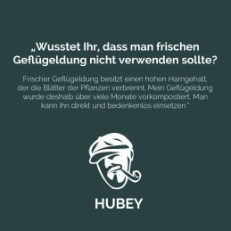 hubey® Trichoderma 50g shaker for the immunization of roots