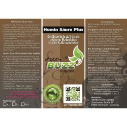 Green Buzz Humin Säure Plus 100ml