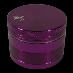 Black Leaf Alu Grinder, purple, Ø ca. 48mm, with...