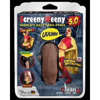Screeny Weeny Set - Latino Brown Beauty von Clean Urin