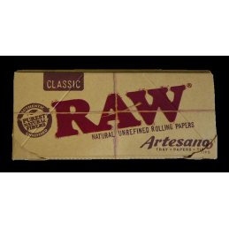 RAW Artesano, King Size Slim 108 x 44mm 32 Blatt + Tips +...
