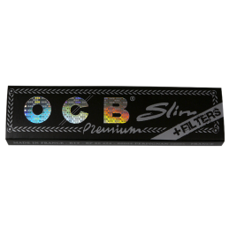 OCB Premium, King Size Slim 108 x 44mm 32 Blatt + Tips