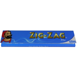 ZIG-ZAG Blue King Size Slim 32 Blatt