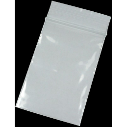 Zip lock bags 50mm x 70mm, 50�, no printing, 100/package