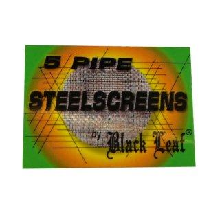 Black Leaf Pfeifensiebe aus Stahl, Ø 25mm 5 Stück