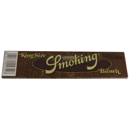 SMOKING Brown, King Size Slim 110 x 44mm 33 Blatt...