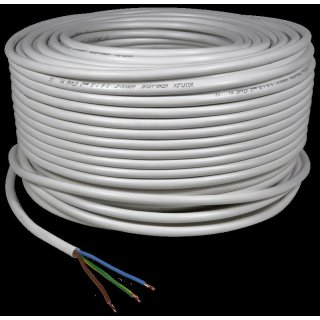 Three-wire cord from the reel, 1,5mm diameter
