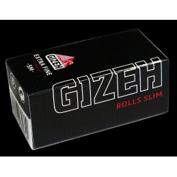 Gizeh Black Rolls Slim, Extra Fine 5 meters