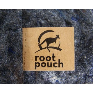 Root Pouch, carrier bag, 8 Liter, 250g, grey