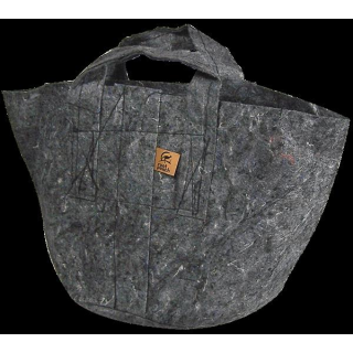 Root Pouch, carrier bag, 56 Liter, 250g, grey