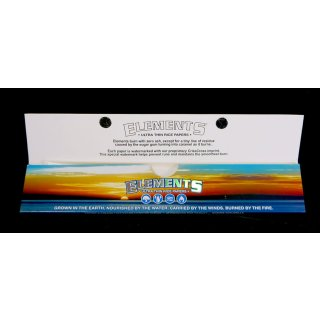 Elements Extra Long, Rolling papers, 30 cm, 24 leaves