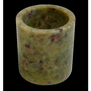 Specksteinkopf gross, zylindrisch