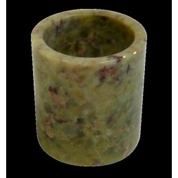 Steatite bowl cylinder, height approx. 35mm
