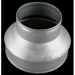 Ducting reducer made of metal, Ø 10/15cm