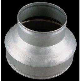 Reduzierstück aus Metall, Ø 100/150mm