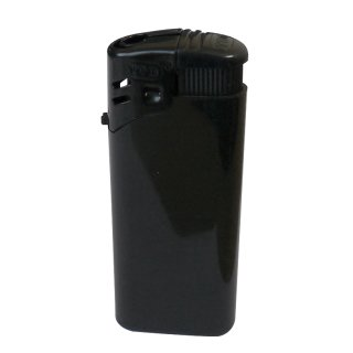 Feuerzeug, black, refillable