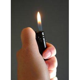 Feuerzeug, schwarz, nachfüllbar