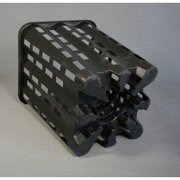 Fast-root pot squared, ca. 23 x 23 x 28 cm Vol. 9,6 Ltr.