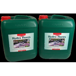 CANNA Hydro Flores A+B, 2 x 10Ltr. for the blooming phase