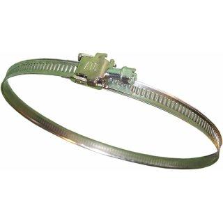 Hose clamp, adjustable, Ø 10-170 mm