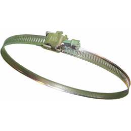 Hose clamp, adjustable, Ø 10-170 mm
