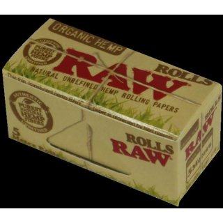Raw Organic Rolls, King Size Rolle, 54mm x 5m