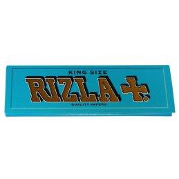 RIZLA Blau KingSize, 32 Blatt, 97 x 55 mm