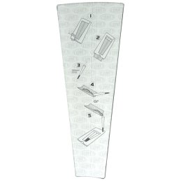 CONES King Size cigaret-sleeves, ca. 11cm long, 3 in a pack