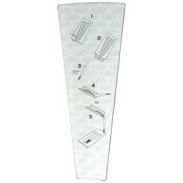 CONES King Size Stopfhülsen, 11cm lang, 3er Pack