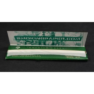 SMOKING Green King Size, 33 papers 108 x 53mm
