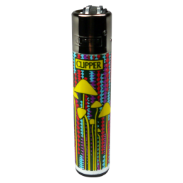 Clipper \'Shrooms\' refillable, different motifs