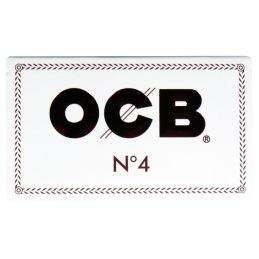 OCB white No.4, 36 x 69mm 100 sheets