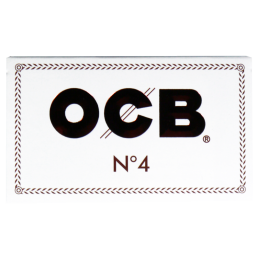 OCB white No.4, 36 x 69mm 100 Blatt