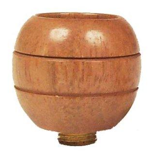 Kopf aus hellem Holz, Höhe ca. 3 cm