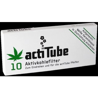 actiTube activated charcoal filter for pipes and cigarettes, 10e