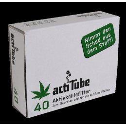 actiTube activated charcoal filter for pipes and...