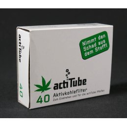 actiTube activated charcoal filter for pipes and cigarettes, 40e
